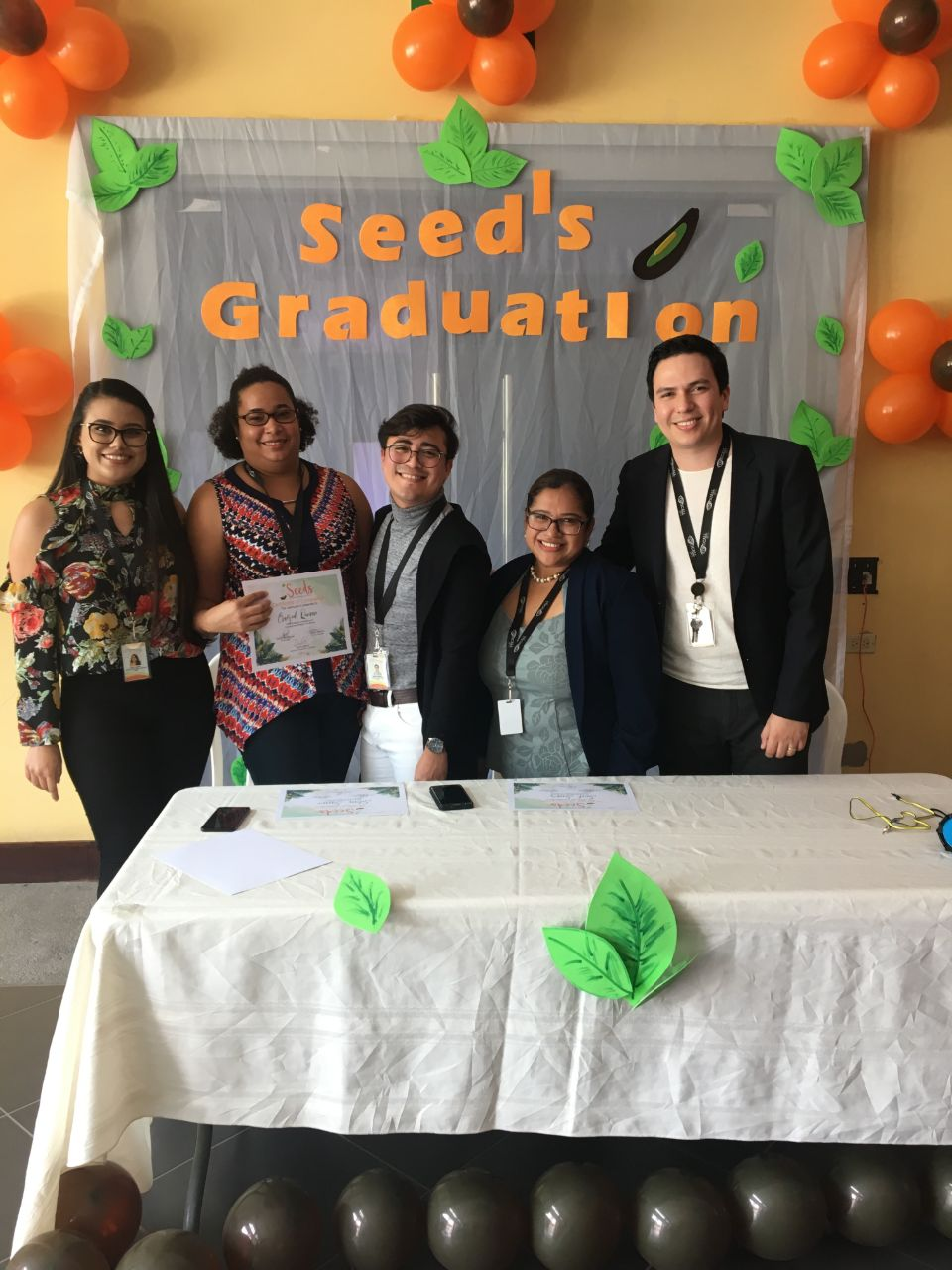 2nd Seeds Graduation